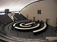 The Council Chambers.