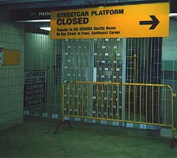 The Entrance to the RT Station
